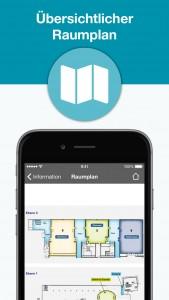 IPC Mobile App - Raumplan