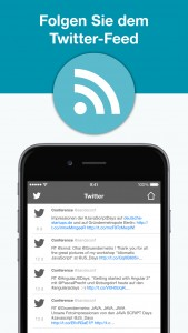 IPC Mobile App - Twitter-Feed