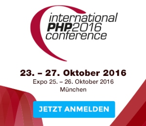International PHP Conference Spring 2016